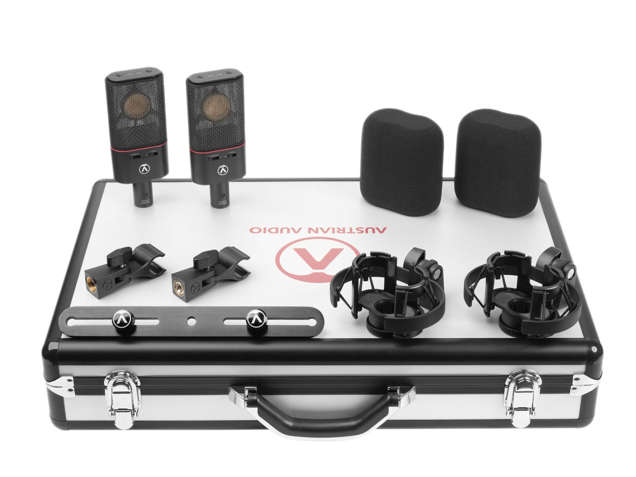 Mars Music Austrian Audio OC18 Studio Dual Set
